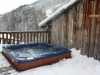 Chalet Hot Tub - with stunning mountain views